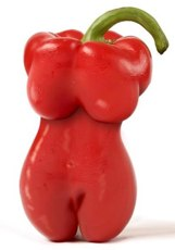 Chili pepper diet pill