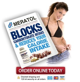 Meratol blocks carbs