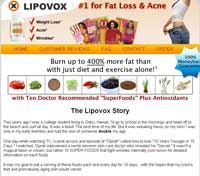 Lipovox website